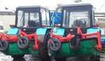 Тротуароуборочные машины на базе тракторов МТЗ
