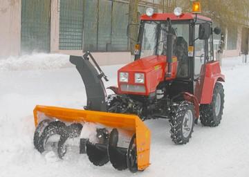 купить Тракторный шнекороторный снегоочиститель СТ-1500