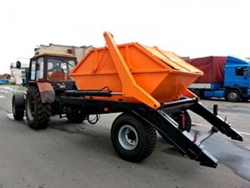 купить Мусоровоз бункеровоз для трактора ППСТ-6