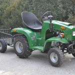Садовый трактор-1