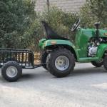 Садовый трактор-3