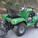 Садовый трактор-4