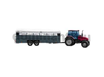 купить ТПС6–01 прицеп для перевозки коров и свиней