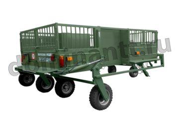 купить Тележка трап ТТ-1С для перевозки свиней