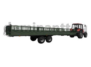 купить Сельскохозяйственный прицеп для перевозки скота ТПС6-02