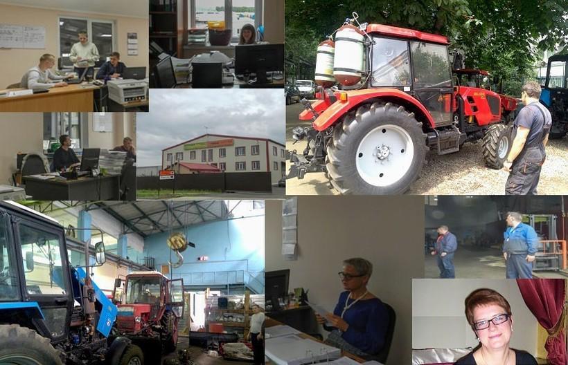 Продажа тракторов МТЗ и спецтехники Беларус – ООО.