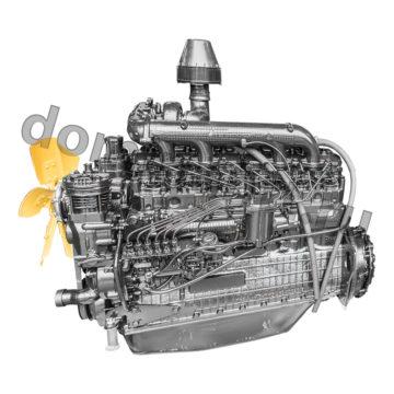 купить Двигатель для трактора МТЗ 2022 - Д 260 .4S2-485