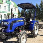 Мини трактор Lovol Foton TE-244 с козырьком-4